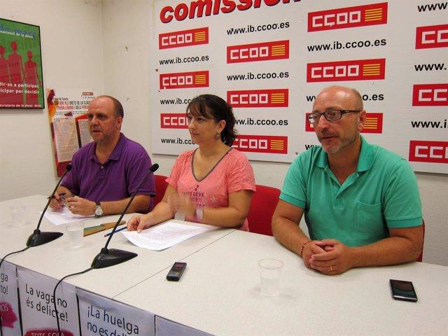 Katiana Vicens en rueda de prensa