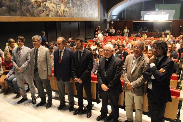 Celebración institucional de la Diada 2014 en Girona