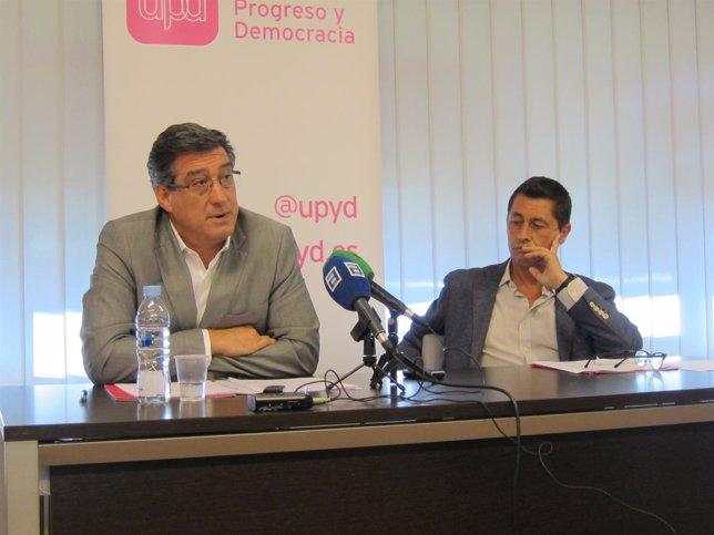 Ignacio Prendes y Armando Fernández, UPyD Asturias