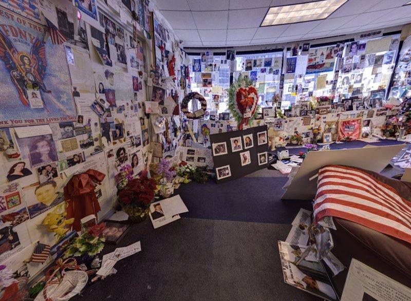 Sala de las familias del 11s