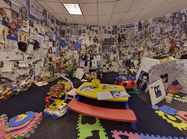 Sala privada de las víctimas del 11S