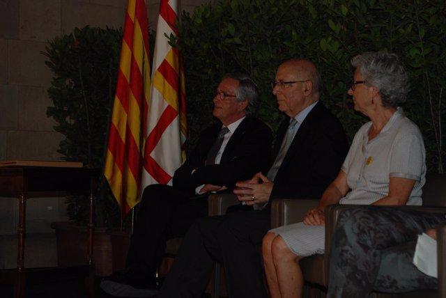 Alcalde Xavier Trias, expte.Parlament Joan Rigol, Muriel Casals (Òmnium)