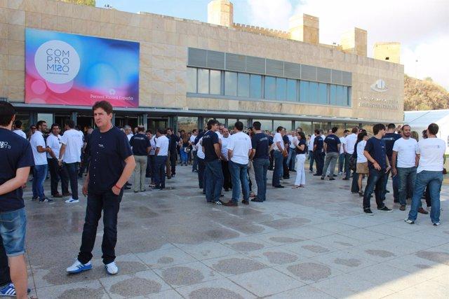 Casi 500 personas se reúnen en el Riberas del Guadaíra en un congreso anual.