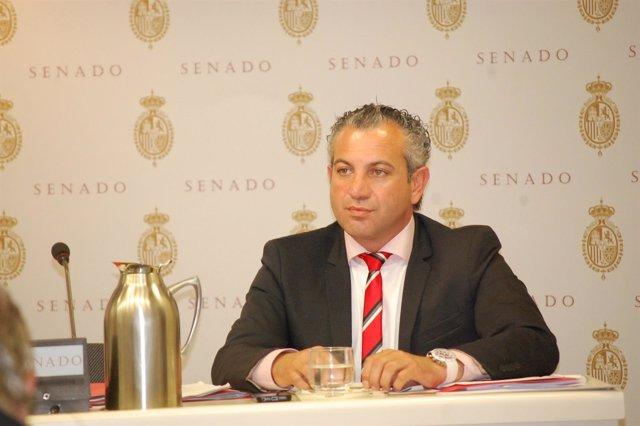 El senador socialista Nicanor Sen.