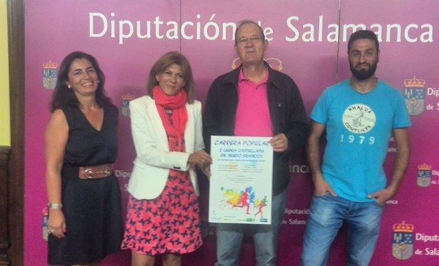 Presentación de la I Legua Castellana de Machacón
