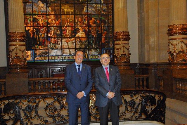 José Luis Bilbao y Andrés Urrutia