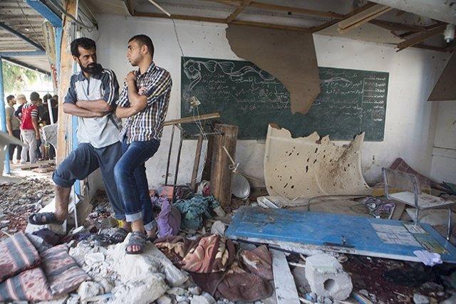 Ataque israelí contra escuela de Gaza, según HRW