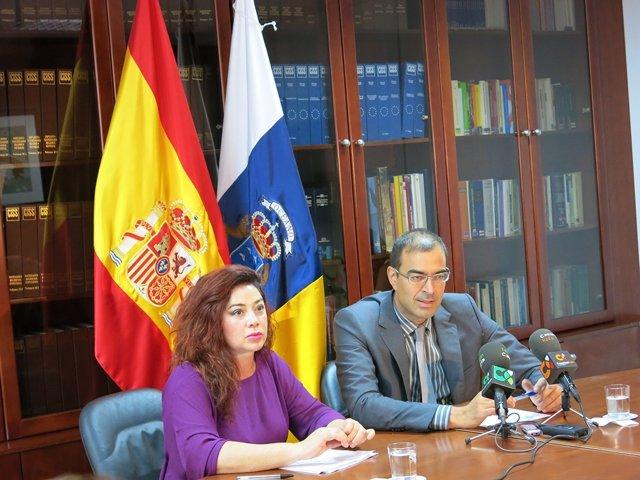 Barrera y Carbajal, en rueda de prensa