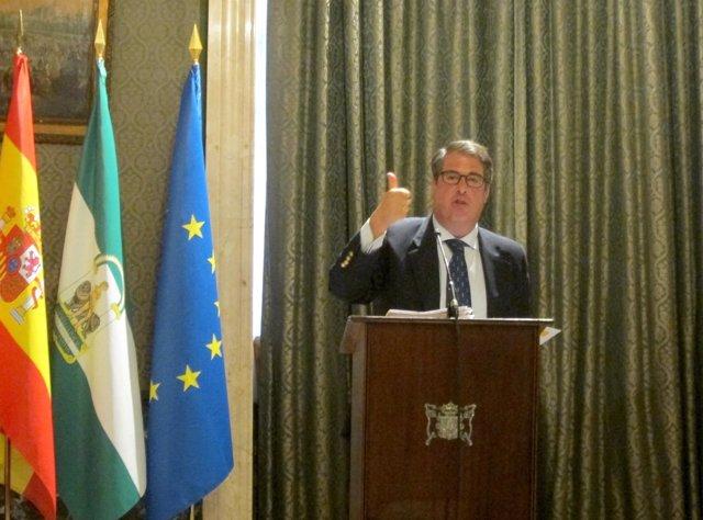 Gregorio Serrano, concejal de Empleo, Economía, Fiestas Mayores y Turismo
