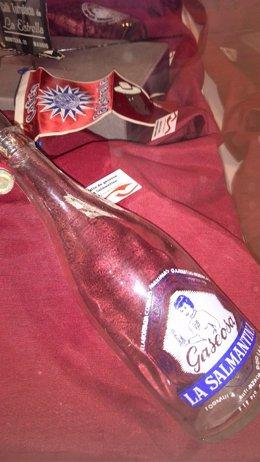 Botella De Gaseosa La Salmantina Expuesta En La Muestra