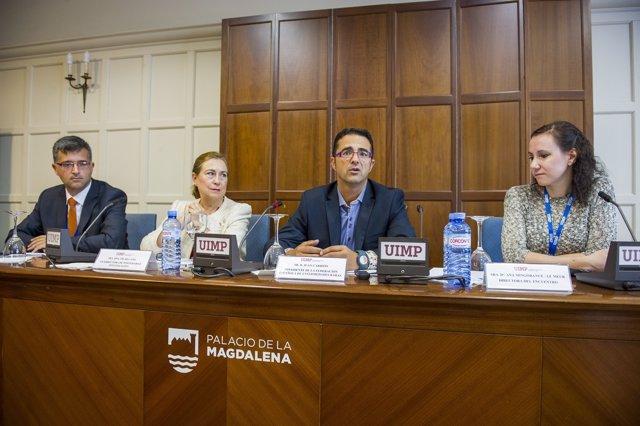 Inauguración del encuentro sobre Enfermedades Raras
