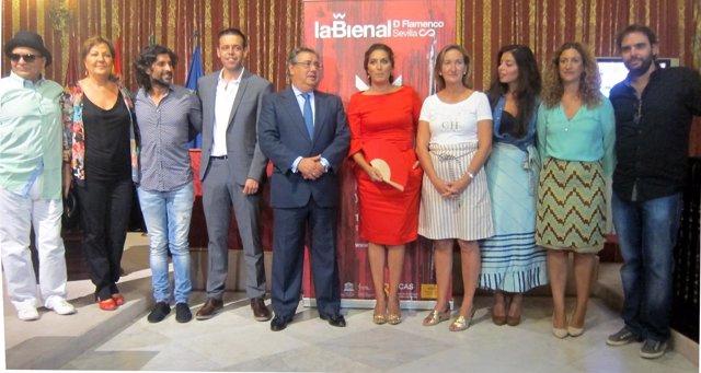 Morente protagoniza la gala inaugural de la Bienal