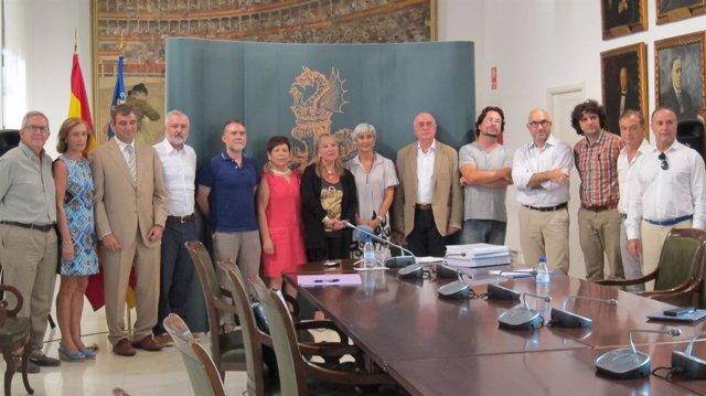 Jurado de los Premios Valencia de Narrativa