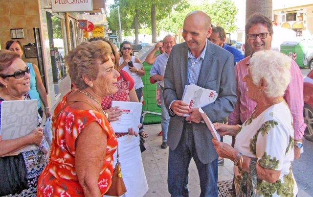 Conejo PSOE-A campaña regional