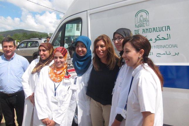 Susana Díaz, en su visita a Marruecos