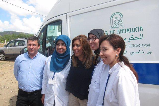 Susana Díaz visita Marruecos