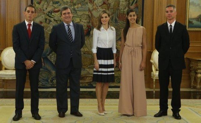 Recepción a Carolina Marín en La Zarzuela