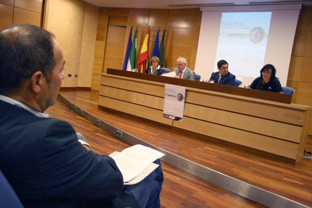 Inauguración de las jornadas sobre olivar y sostenibilidad en la UJA