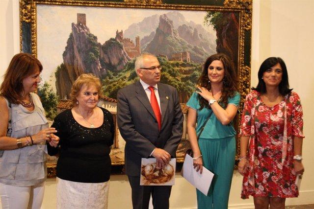 Inauguración de la exposición de Alfonso Parras en el Museo de Jaén