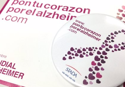 La campaña 'Pon tu corazón con el Alzheimer' lanza el reto de conseguir 800.000 mensajes de apoyo para estos enfermos