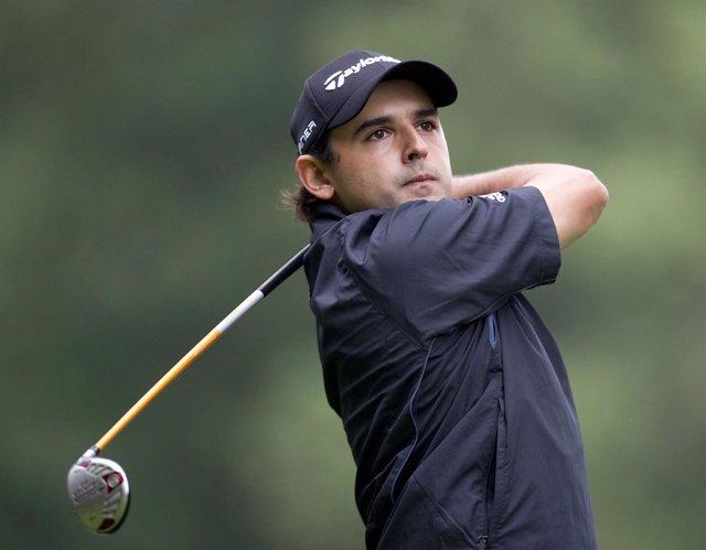 El golfista paraguayo Fabrizio Zanotti