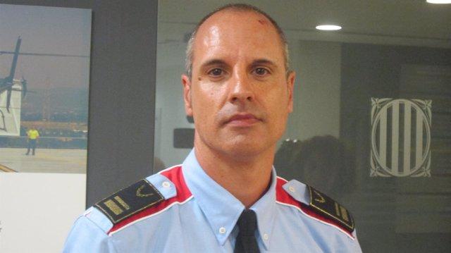 El portavoz de los Mossos d'Esquadra Xavier Porcuna