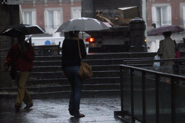 Recursos de lluvias en Madrid