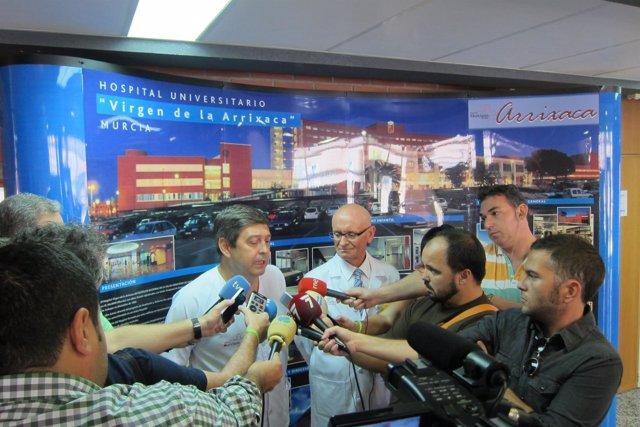 Doctor Herrero, encargado de coordinar el protocolo por ébola en la Arrixaca