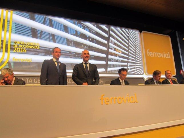 Junta de accionistas de Ferrovial de 2014