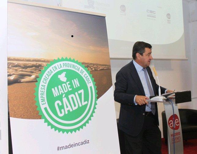 José Loaiza participando en 'Made in Cádiz'
