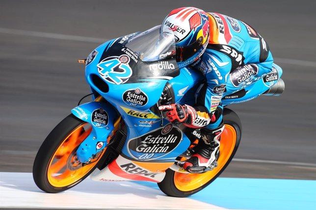 El piloto español de Moto3 Álex Rins
