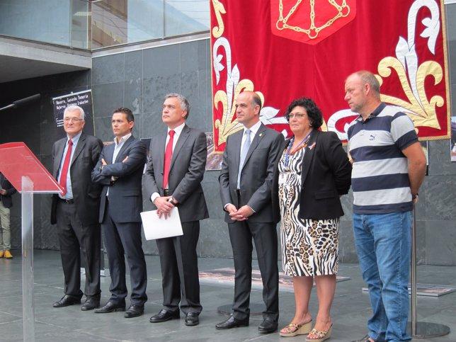 Acto de apertura de los Encuentros Transfronterizos de Memoria Histórica.