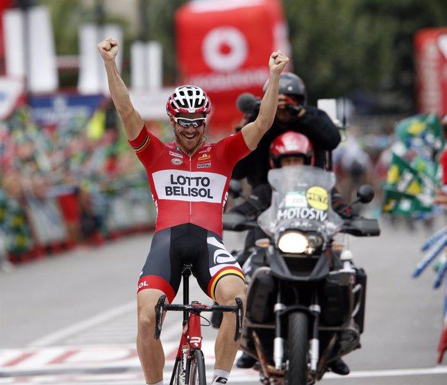 Adam Hansen gana la etapa 19 de La Vuelta
