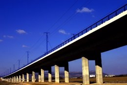 Linea AVE Córdoba-Málaga, viaducto de Bobadilla