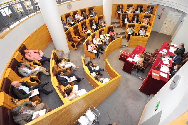 Pleno de la Diputación de A Coruña