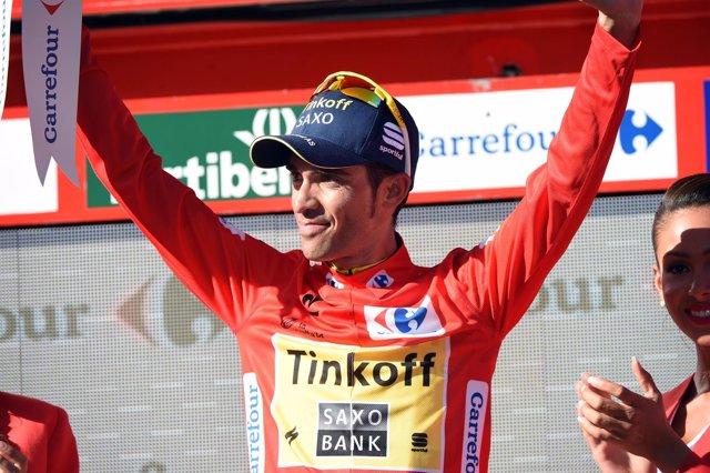 Alberto Contador en La Vuelta
