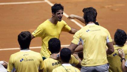 Bellucci remonta a Andújar y pone el 1-1 entre Brasil y España