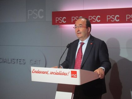 """Iceta pide a Rajoy que """"no se refugie detrás de las leyes"""""""