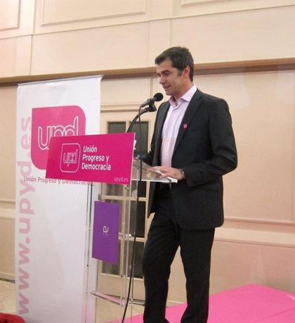 Toni Cantó anuncia que se presenta a las primarias para liderar la candidatura de UPyD a la Generalitat