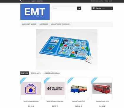 La EMT estrena este lunes una tienda 'online'