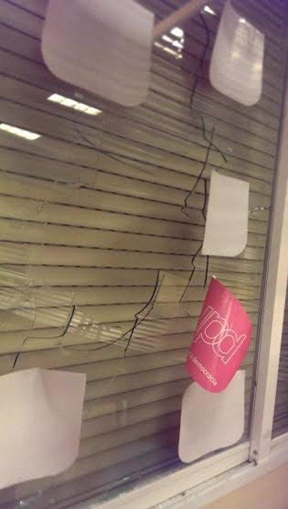 UPyD Cuenca denuncia que su sede ha sido atacada