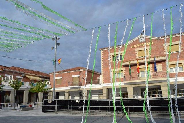 Las Fiestas de 'La Santa' de Mequinenza empiezan este martes.