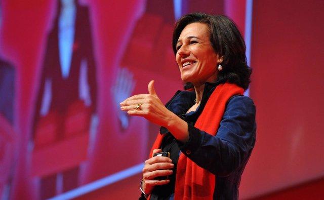 Ana Botín, presidenta del Santander