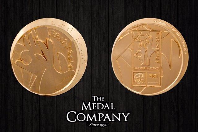 Medalla de Oro del Mundial de baloncesto de 2014