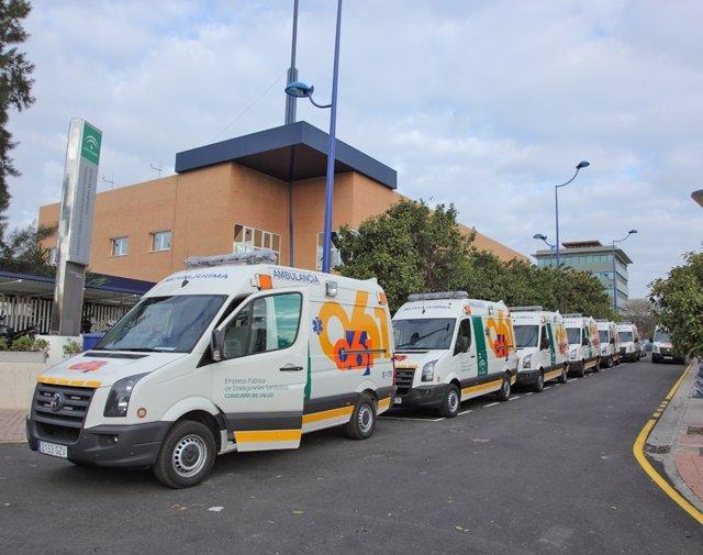 Ambulancias de urgencia del 061