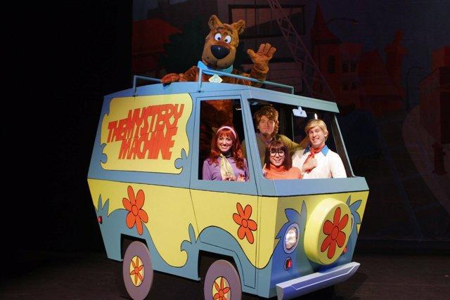 Show en vivo de Scooby-Doo