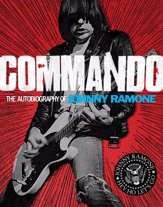 Portada De 'Commando: The Autobiography Of Johnny Ramone'