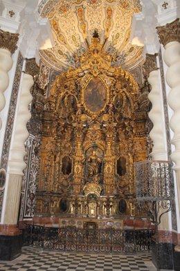 Interior de la iglesia de San Luis de los Franceses en Sevilla