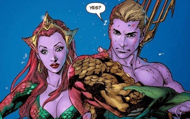 Aquaman y Mera