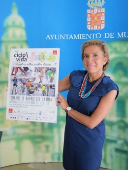 La concejala de Medio Ambiente, Adela Martínez-Cachá, presenta las actividades